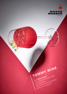 Tommy Wine Flyer Front